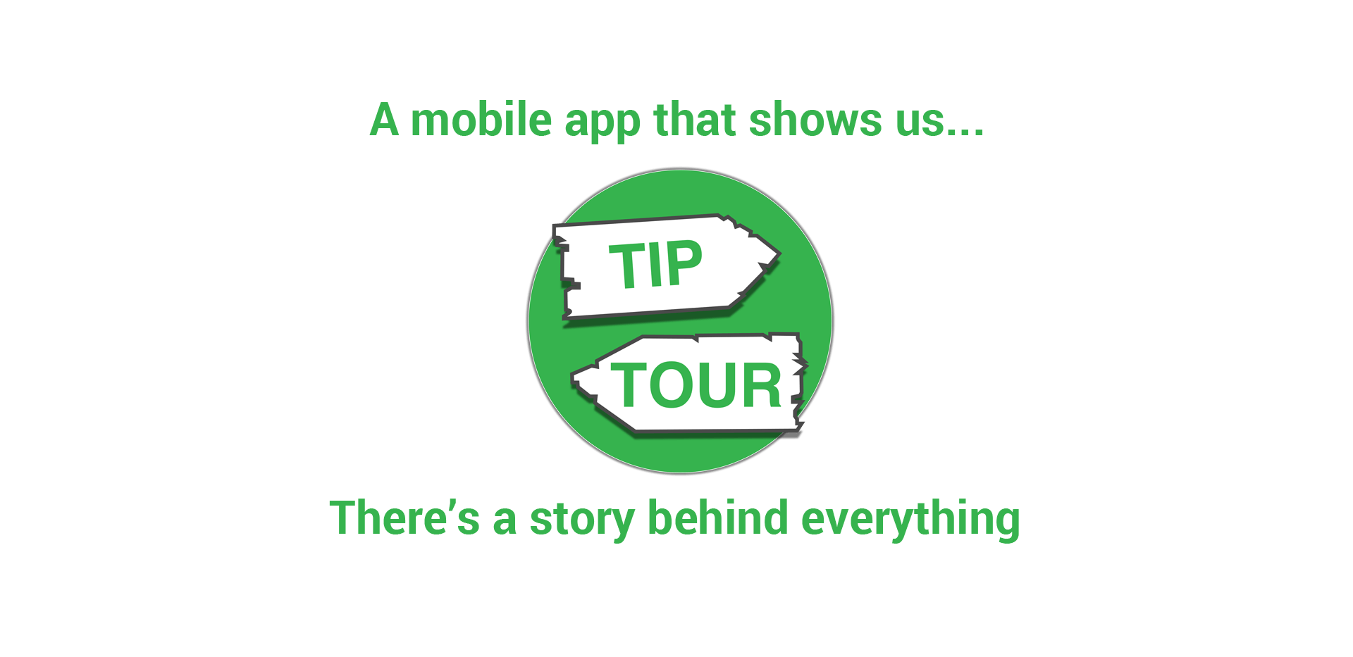 A mobile app that shows us - There's a story behind everything